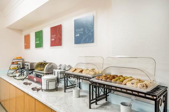 Mariposa, Kalifornien: Breakfast area