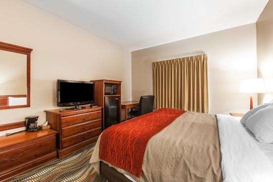 Comfort Inn & Suites - Lookout Mountain: Guest Room