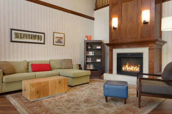 Norman, OK: NOOKLiving Room With Fireplace