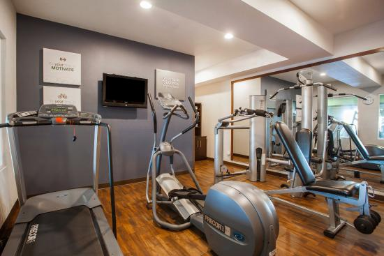 Comfort Suites Moses Lake : Fitness Center
