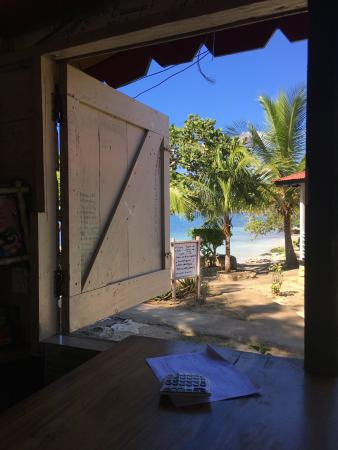 Little Bay, Jamaika: View from the Lean Back Lounge and Bar