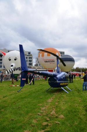 Wevelgem, Belgia: Ballonhappening
