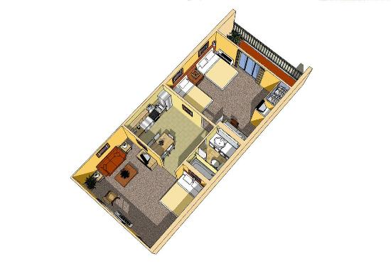 Celebration Suites: Suite Layout