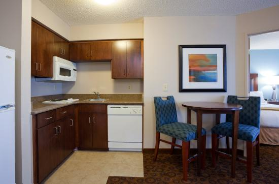 Saint Cloud, MN: One Bedroom Suite kitchen area