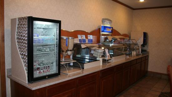 Portage, Ιντιάνα: Breakfast Bar