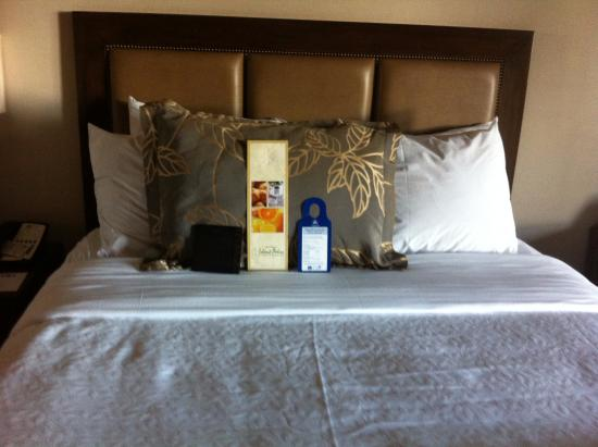 BEST WESTERN PLUS Island Palms Hotel & Marina: very comfy bed and lots of pillows! clean clean clean!