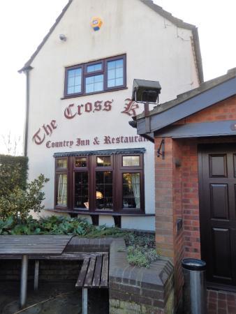 The Cross Keys Restaurant Stow: Exterior
