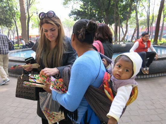 Coyoacan: Na Praça de Coyoacán