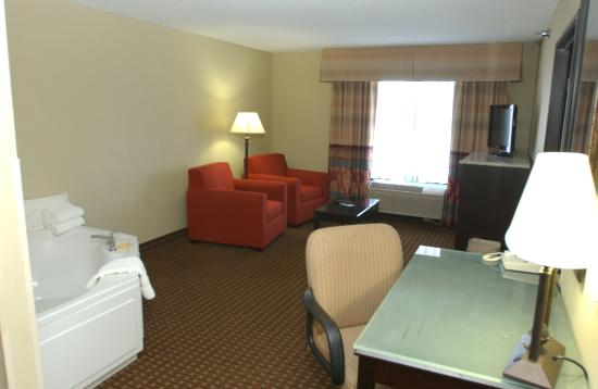 Owatonna, MN: King Whirlpool Mobility Accessible Suite