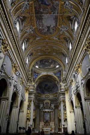 Interior Da Chiesa Nuova Foto Di Smaria In Vallicella Roma