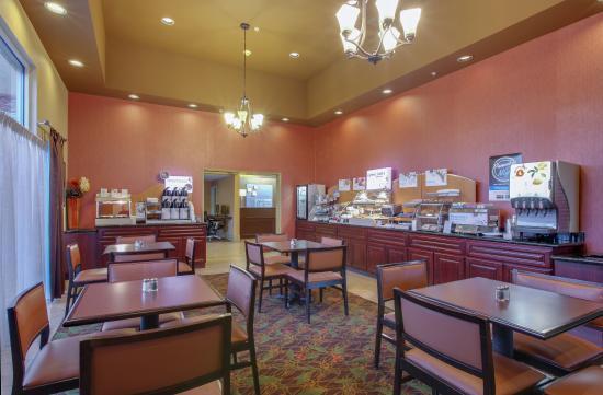 Oakdale, Californie : Breakfast Bar