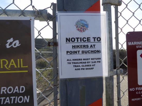 Los Osos, كاليفورنيا: Entrance gate sign