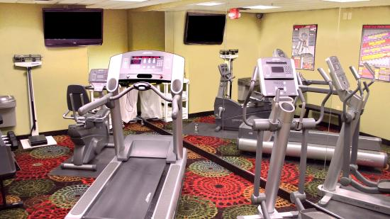 24 hour Fitness Center - Holiday Inn Express Jamestown
