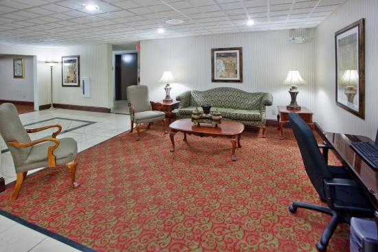 Milledgeville, Τζόρτζια: Hotel Lobby