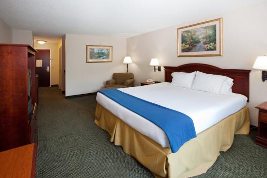 Milledgeville, Τζόρτζια: King Bed Guest Room