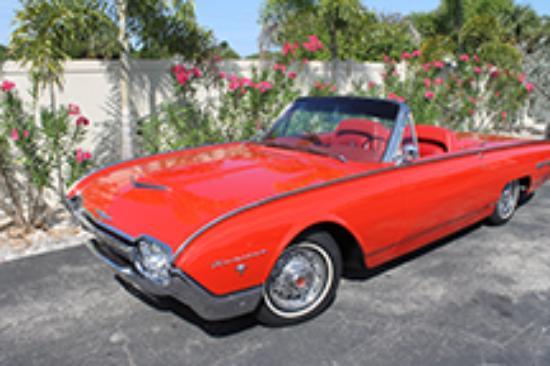 1962 ford thunderbird convertible picture of ideal classic cars rh tripadvisor com