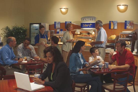 Lebanon, Индиана: Breakfast Bar
