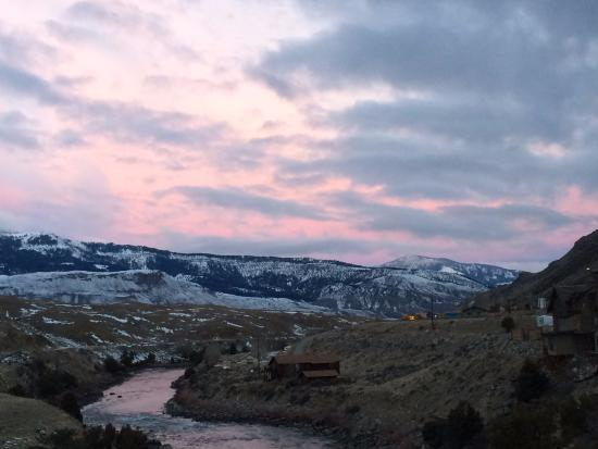 Gardiner, MT: View from our room