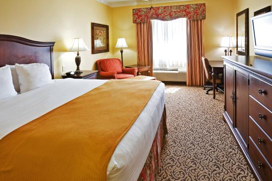 Sulphur Springs, TX: King Bed Guest Room