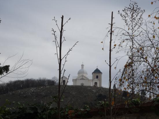Mikulov, Τσεχική Δημοκρατία: Widok na Svaty Kopecek