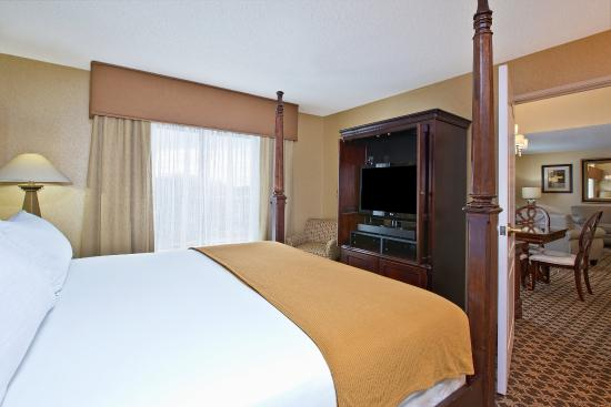 West Middlesex, Pensilvania: Two Room Presidential Suite bedroom