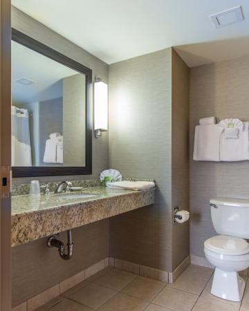 Auburn, MA: Guest Bathroom