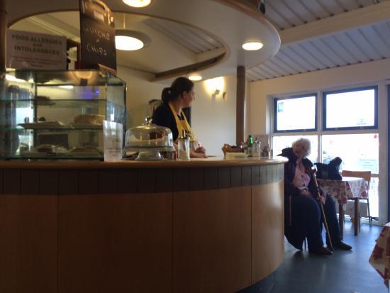 Pensilva, UK: Angie's counter
