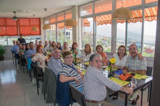 La Matanza de Acentejo, إسبانيا: Visita de Los Amigos Canarios del Buen Comer