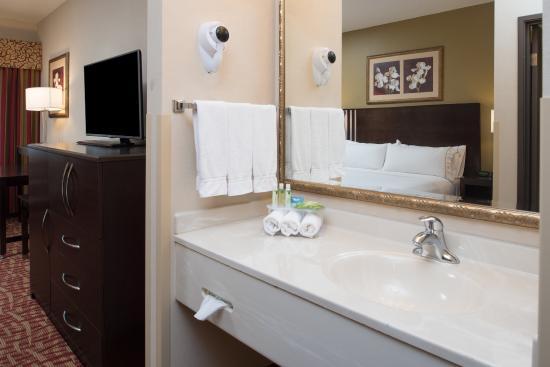 Spokane Valley, WA: ADA/Handicapped accessible Guest Bathroom vanity