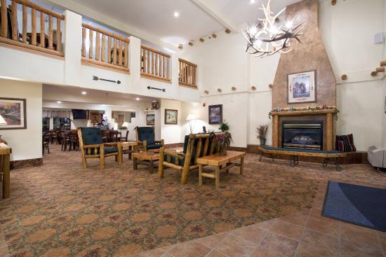 Ogallala, NE: Hotel Lobby