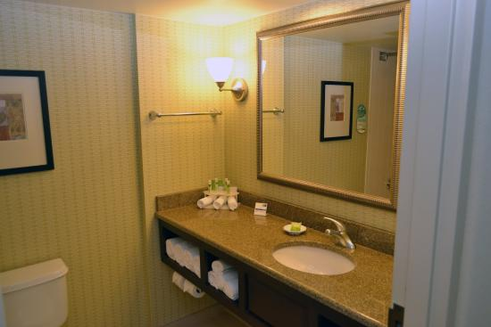 Brandon, ฟลอริด้า: Clean and Refreshing Bathroom