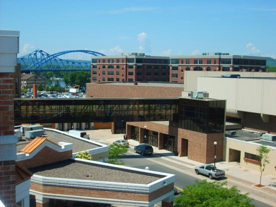 Holiday Inn Hotel & Suites La Crosse: View from Hotel