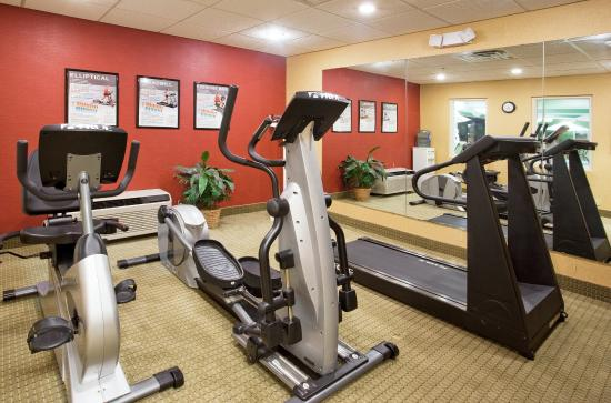 Troy, OH: Get a great work out while watching a HD LCD TV.
