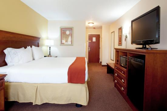Holiday Inn Express & Suites- Sulphur (Lake Charles): King Room with 37 inch Flat Screen TV  Micro/Refridgerator