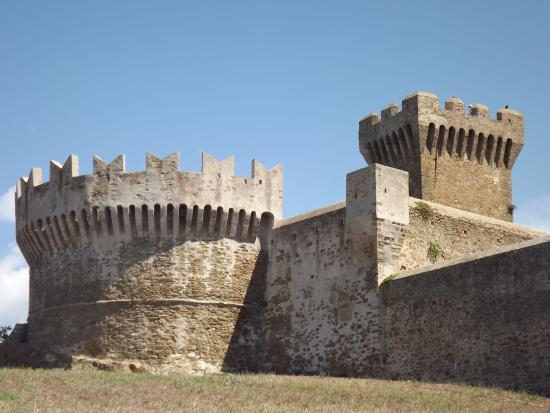 Populonia, Italien: rocca