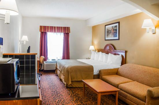 Quality Inn & Suites Hershey: Guest Room