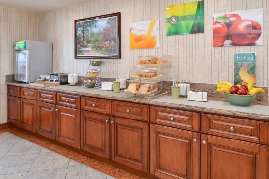 Walnut, Californië: Breakfast area