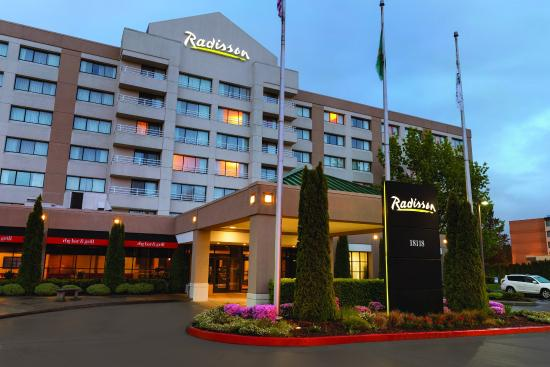 radisson hotel seattle airport updated 2017 reviews price