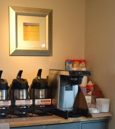 Benton Harbor, Мичиган: Coffee Area