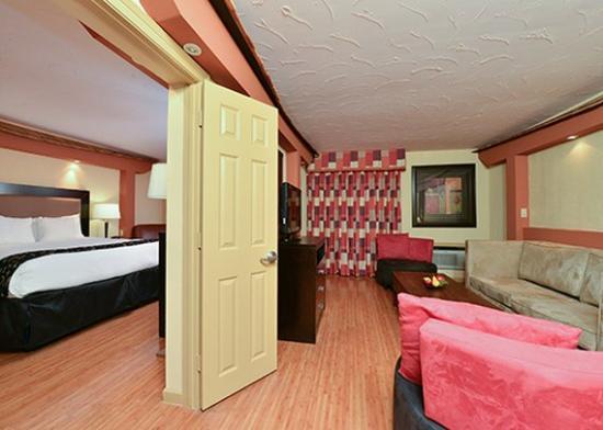 Radisson Hotel Baton Rouge: Suite