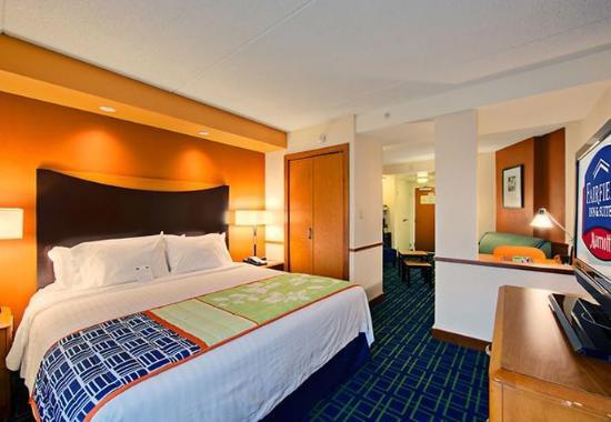 อ็อกซ์ฟอร์ด, อลาบาม่า: King Suite Sleeping Area