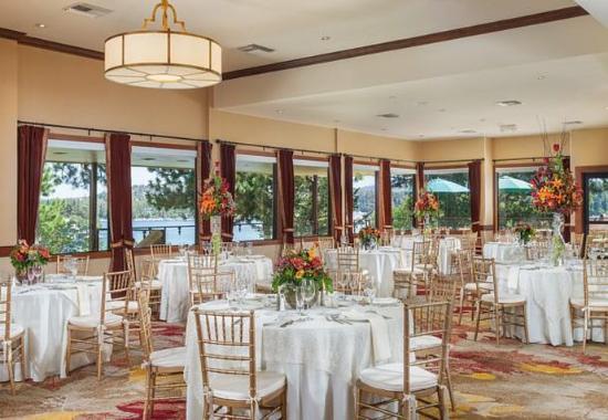 Lake Arrowhead, Californie : Lakeview Terrace - Banquet Setup