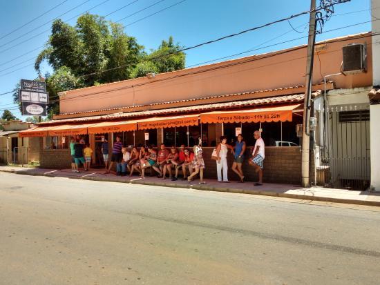 Pirai, RJ: Fachada do restaurante
