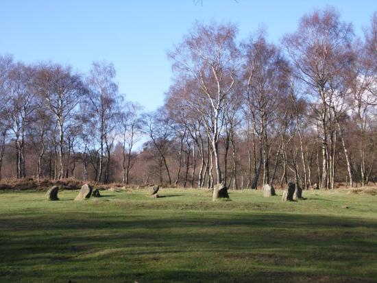 Matlock, UK: The stone circle