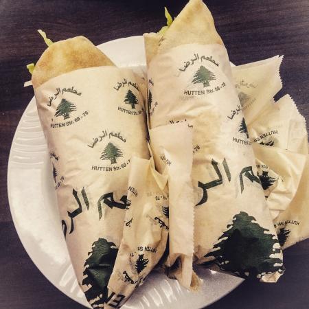 El Reda Restaurant e.K: Falafel Sandwich