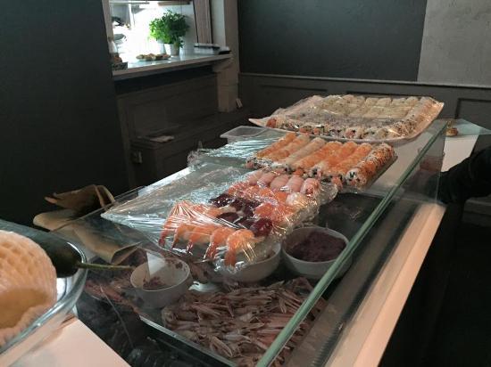 Piove di Sacco, Itália: Piatti della nostra cena di lavoro..