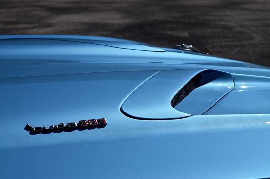 Venice, FL: 1971 Plymouth Cuda Hood Detail