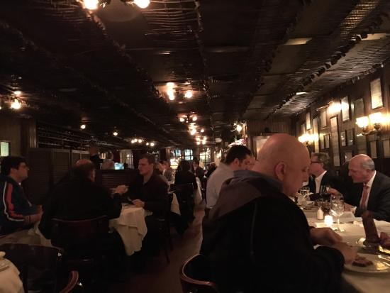 Keens Steakhouse: Absolutely well worth a visit. We went on our first night in New York and the food was excellent