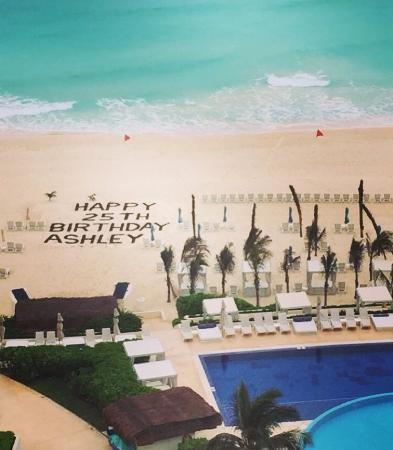 Happy birthday to me picture of live aqua beach resort cancun cancun tripadvisor for How many rooms at live aqua cancun