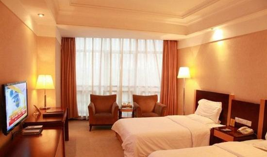 Fuzhou, Çin: Standard Twin Room